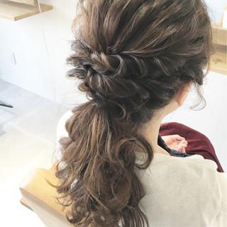 ハーフアップ 大人かわいい ゆるふわ 簡単ヘアアレンジ ヘアスタイルや髪型の写真・画像 ヘアスタイルや髪型の写真・画像
