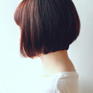 ショートボブ 小顔 ショート グレージュ ヘアスタイルや髪型の写真・画像 ヘアスタイルや髪型の写真・画像