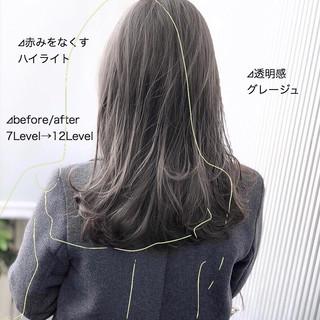 ストレート 前髪 髪質改善 ナチュラル ヘアスタイルや髪型の写真・画像