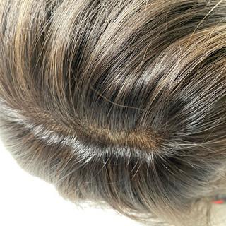 グラデーションカラー ハイライト バレイヤージュ ナチュラル ヘアスタイルや髪型の写真・画像 | 東城 John / ALIVE 表参道
