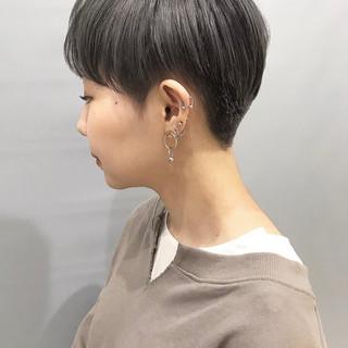 ベリーショート モード 刈り上げショート ショートヘア ヘアスタイルや髪型の写真・画像