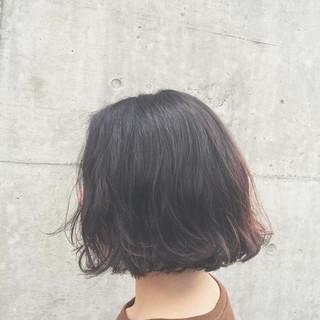 外ハネ ゆるふわ 切りっぱなし ふわふわ ヘアスタイルや髪型の写真・画像