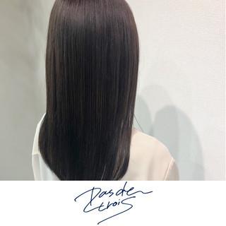 艶髪 ロング ナチュラル 縮毛矯正 ヘアスタイルや髪型の写真・画像
