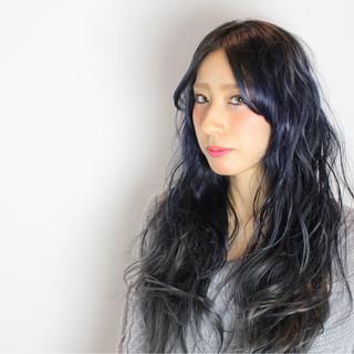 ロング かっこいい モード フェミニン ヘアスタイルや髪型の写真・画像