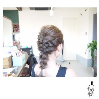 ハイライト 簡単ヘアアレンジ ナチュラル ショート ヘアスタイルや髪型の写真・画像