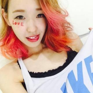 ストリート ピンク 外国人風 レッド ヘアスタイルや髪型の写真・画像