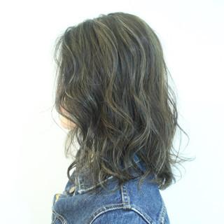 ハイライト ボブ 外国人風 色気 ヘアスタイルや髪型の写真・画像