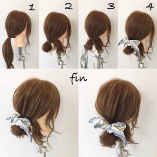 女子会 リラックス ヘアアレンジ 簡単ヘアアレンジ ヘアスタイルや髪型の写真・画像