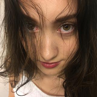 外国人風 ヘアアレンジ ロング ゆるふわ ヘアスタイルや髪型の写真・画像
