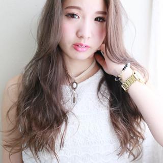 大人かわいい 外国人風 ストリート ゆるふわ ヘアスタイルや髪型の写真・画像