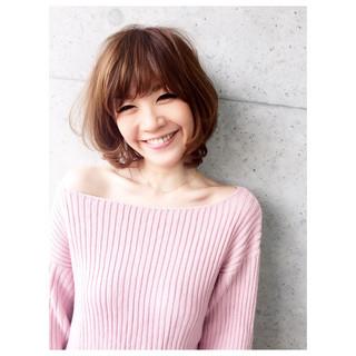 ミディアム 夏 ナチュラル ヘアアレンジ ヘアスタイルや髪型の写真・画像
