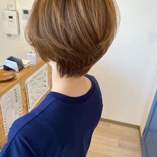 コンサバ ショート ショートヘア ベリーショート ヘアスタイルや髪型の写真・画像