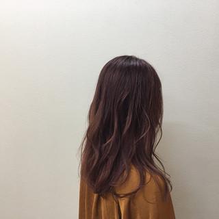透明感 ブリーチ ゆるふわ ハイライト ヘアスタイルや髪型の写真・画像