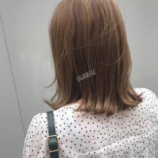 ナチュラル 簡単ヘアアレンジ ミルクティーベージュ シナモンベージュ ヘアスタイルや髪型の写真・画像