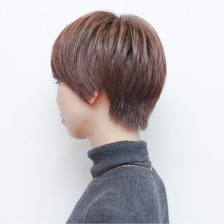 外国人風 冬 ストリート ショート ヘアスタイルや髪型の写真・画像