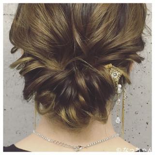ヘアアレンジ アップスタイル ゆるふわ エレガント ヘアスタイルや髪型の写真・画像 ヘアスタイルや髪型の写真・画像