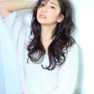 《暗めピンクグレージュ》甘モテpointをおさえた、きゅん髪へ♡