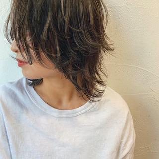 ストリート ハイライト ショート 透け感 ヘアスタイルや髪型の写真・画像