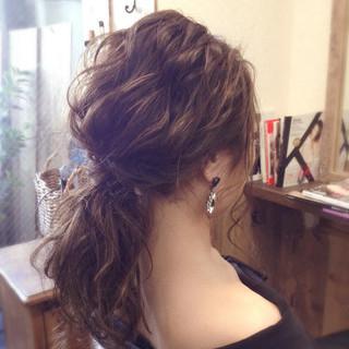 ヘアアレンジ 結婚式 デート 謝恩会 ヘアスタイルや髪型の写真・画像