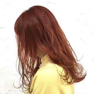 ヘアアレンジ 原宿系 セミロング ハイライト ヘアスタイルや髪型の写真・画像