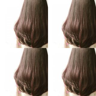 暗髪 外国人風 ナチュラル ロング ヘアスタイルや髪型の写真・画像