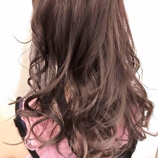 セミロング ブリーチ 秋 外国人風カラー ヘアスタイルや髪型の写真・画像