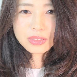 冬 ロング セミロング 秋 ヘアスタイルや髪型の写真・画像