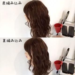 ショート セミロング ガーリー 簡単ヘアアレンジ ヘアスタイルや髪型の写真・画像 ヘアスタイルや髪型の写真・画像