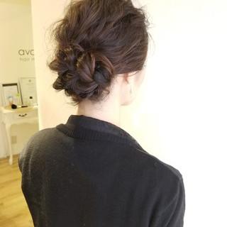 ヘアアレンジ 結婚式ヘアアレンジ エレガント 結婚式 ヘアスタイルや髪型の写真・画像