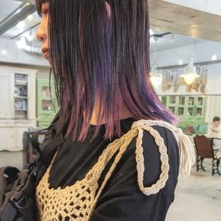 【パープルブラウン】カラーで大人かわいい髪と雰囲気をゲットしよう!