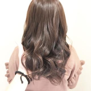 ナチュラル 透明感 セミロング ヘアアレンジ ヘアスタイルや髪型の写真・画像