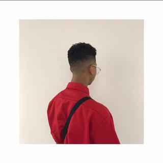メンズ メンズショート スキンフェード 刈り上げ ヘアスタイルや髪型の写真・画像