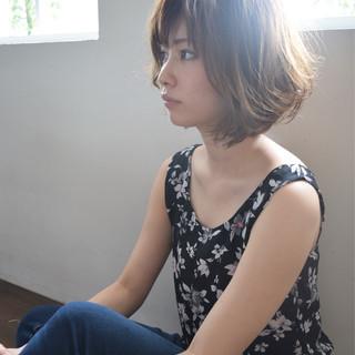 フェミニン 涼しげ 大人かわいい 夏 ヘアスタイルや髪型の写真・画像