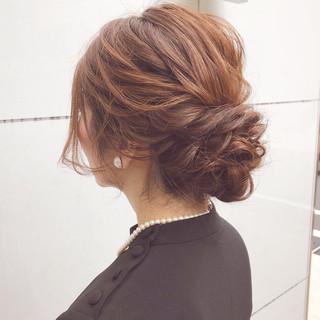 結婚式 ボブ 簡単ヘアアレンジ アンニュイほつれヘア ヘアスタイルや髪型の写真・画像 ヘアスタイルや髪型の写真・画像