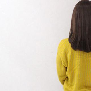 ミディアム ハイライト アッシュ グラデーションカラー ヘアスタイルや髪型の写真・画像