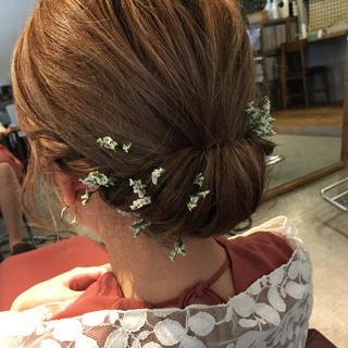 フェミニン 冬 ヘアアレンジ デート ヘアスタイルや髪型の写真・画像
