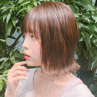 アンニュイほつれヘア 愛され ミディアム ヘアアレンジ ヘアスタイルや髪型の写真・画像