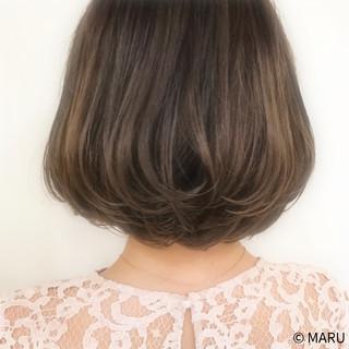 ナチュラル アッシュベージュ 外国人風カラー グレージュ ヘアスタイルや髪型の写真・画像