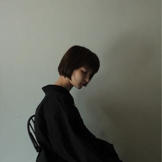 ショートボブ ロブ 大人女子 色気 ヘアスタイルや髪型の写真・画像 ヘアスタイルや髪型の写真・画像