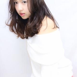 春 ミディアム モテ髪 夏 ヘアスタイルや髪型の写真・画像