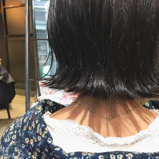 oggiotto 透明感カラー ナチュラル 暗髪女子 ヘアスタイルや髪型の写真・画像