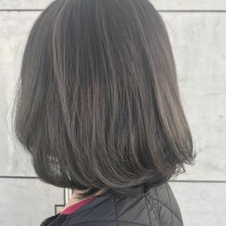 ハイライト ボブ デート 外国人風 ヘアスタイルや髪型の写真・画像