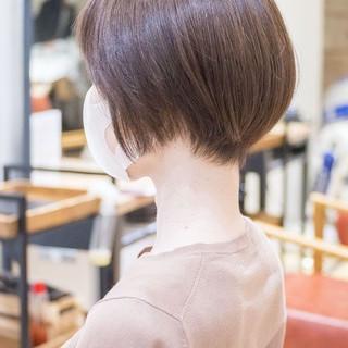 ハンサムショート ショートヘア マッシュショート ショート ヘアスタイルや髪型の写真・画像