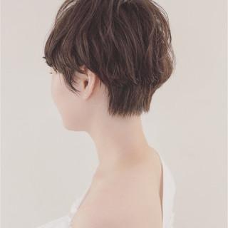 ベリーショート マッシュ ショート ナチュラル ヘアスタイルや髪型の写真・画像 ヘアスタイルや髪型の写真・画像