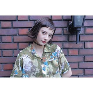 ショート くせ毛風 外国人風 ストリート ヘアスタイルや髪型の写真・画像 ヘアスタイルや髪型の写真・画像