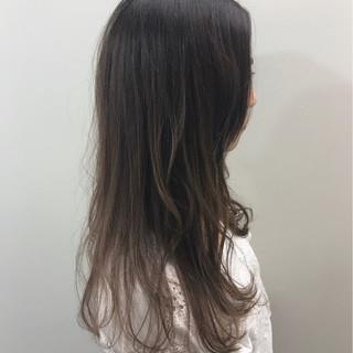 透明感 外国人風カラー フェミニン ロング ヘアスタイルや髪型の写真・画像