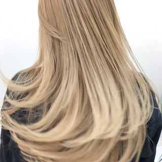 ナチュラル ロング 大人ハイライト ハイライト ヘアスタイルや髪型の写真・画像 ヘアスタイルや髪型の写真・画像