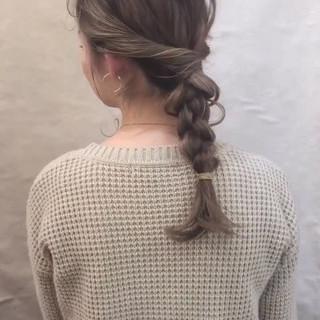 デート フェミニン スポーツ オフィス ヘアスタイルや髪型の写真・画像