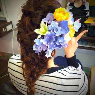 愛され 三つ編み ヘアアレンジ モテ髪 ヘアスタイルや髪型の写真・画像