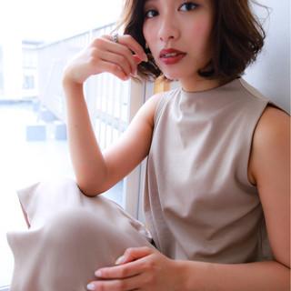 パーマ ヘアアレンジ ウェーブ アンニュイ ヘアスタイルや髪型の写真・画像 ヘアスタイルや髪型の写真・画像